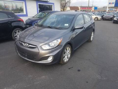 2012 Hyundai Accent for sale at Nonstop Motors in Indianapolis IN