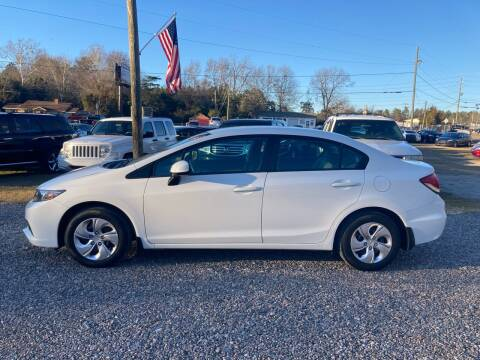 2013 Honda Civic for sale at Joye & Company INC, in Augusta GA