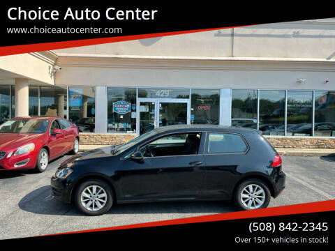 2016 Volkswagen Golf for sale at Choice Auto Center in Shrewsbury MA