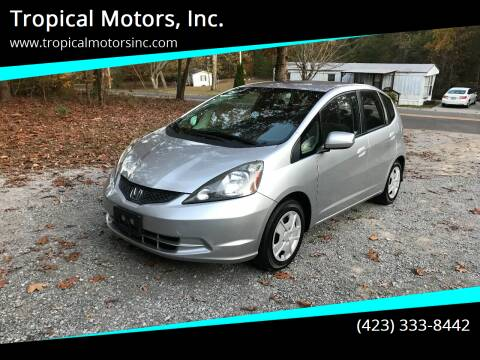 2012 Honda Fit for sale at Tropical Motors, Inc. in Riceville TN