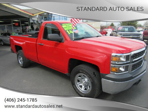 2014 Chevrolet Silverado 1500 for sale at Standard Auto Sales in Billings MT