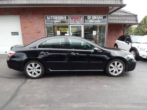 2009 Acura RL for sale at AUTOWORKS OF OMAHA INC in Omaha NE