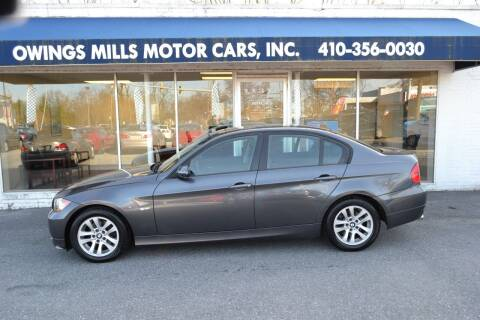 2006 BMW 3 Series for sale at Owings Mills Motor Cars in Owings Mills MD