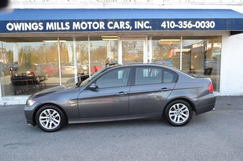 2006 BMW 3 Series for sale at Owings Mills Motor Cars in Owings Mills MD