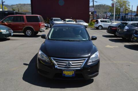 2014 Nissan Sentra for sale at Earnest Auto Sales in Roseburg OR