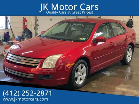 2008 Ford Fusion for sale at JK Motor Cars in Pittsburgh PA