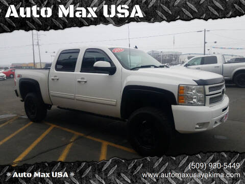 2013 Chevrolet Silverado 1500 for sale at Auto Max USA in Yakima WA