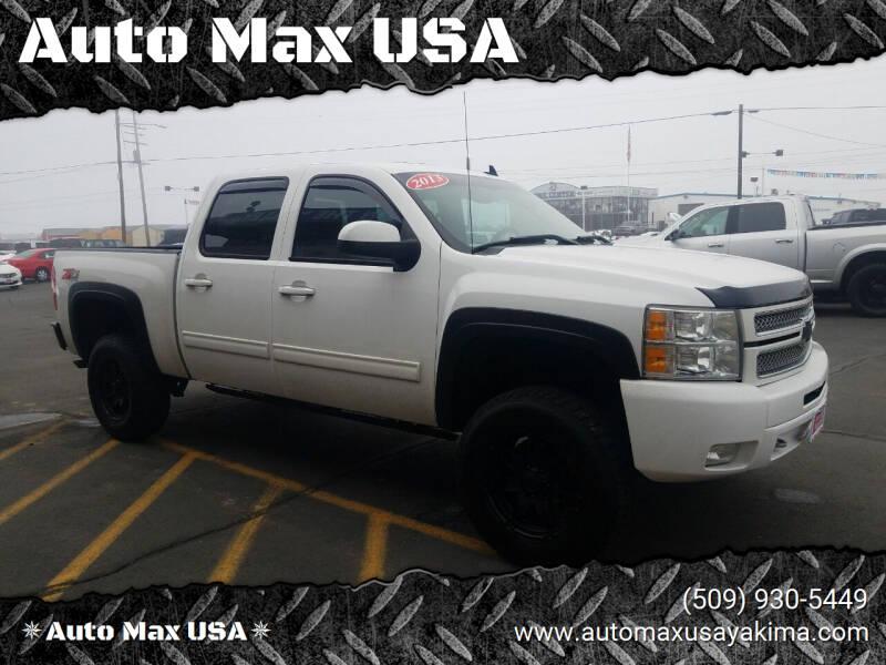 2013 Chevrolet Silverado 1500 for sale at Auto Max USA in Yakima WA