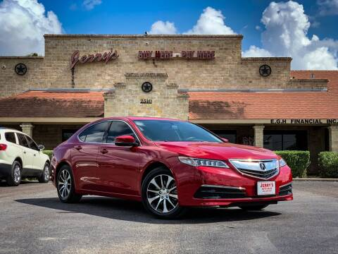 2017 Acura TLX for sale at Jerrys Auto Sales in San Benito TX