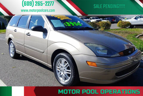 2003 Ford Focus for sale at Motor Pool Operations in Hainesport NJ