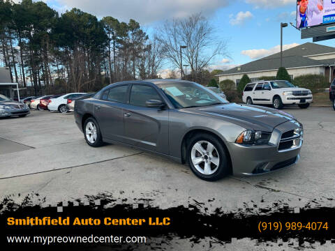 2012 Dodge Charger for sale at Smithfield Auto Center LLC in Smithfield NC