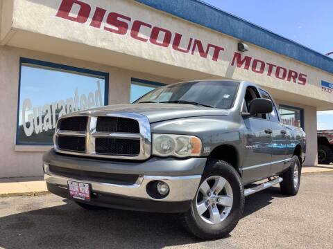 2005 Dodge Ram Pickup 1500 for sale at Discount Motors in Pueblo CO