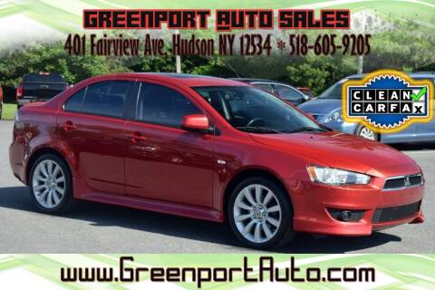 2011 Mitsubishi Lancer for sale at GREENPORT AUTO in Hudson NY