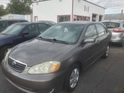 2005 Toyota Corolla for sale at J & J Used Cars inc in Wayne MI