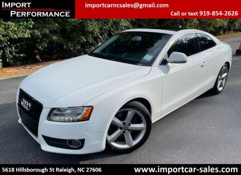 2009 Audi A5 for sale at Import Performance Sales in Raleigh NC