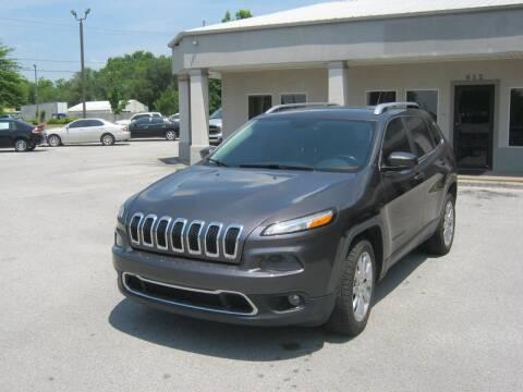 2014 Jeep Cherokee for sale at Premier Motor Co in Springdale AR