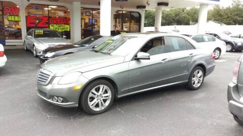 2011 Mercedes-Benz E-Class for sale at Tony's Auto Sales in Jacksonville FL
