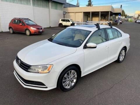 2015 Volkswagen Jetta for sale at TacomaAutoLoans.com in Tacoma WA