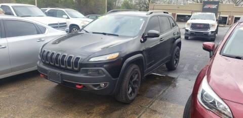 2016 Jeep Cherokee for sale at Apex Auto Group in Cabot AR