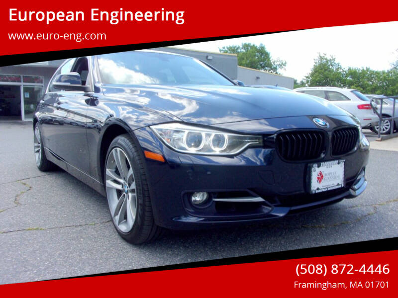 2015 BMW 3 Series for sale at European Engineering in Framingham MA