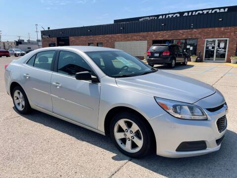 2014 Chevrolet Malibu for sale at Motor City Auto Auction in Fraser MI