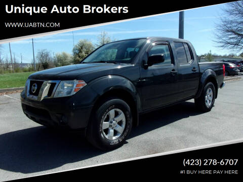 2012 Nissan Frontier for sale at Unique Auto Brokers in Kingsport TN