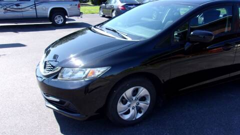 2014 Honda Civic for sale at Eagle's Wings Auto Sales in Hilton NY