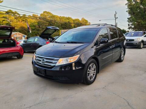 2012 Honda Odyssey for sale at DADA AUTO INC in Monroe NC