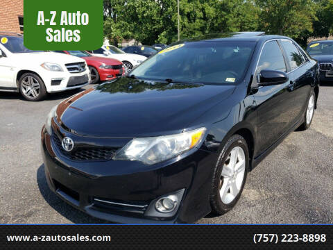 2014 Toyota Camry for sale at A-Z Auto Sales in Newport News VA