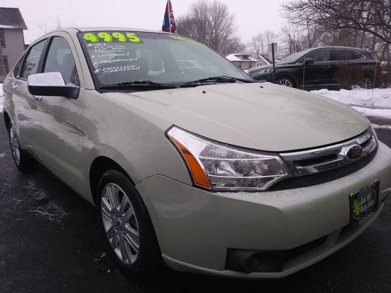 2011 Ford Focus for sale at Oak Hill Auto Sales of Wooster, LLC in Wooster OH