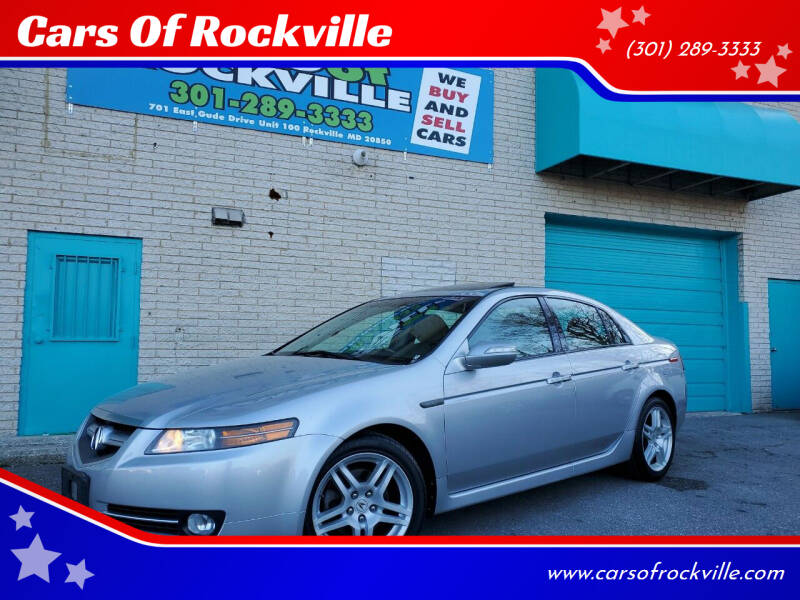 2008 Acura TL for sale at Cars Of Rockville in Rockville MD