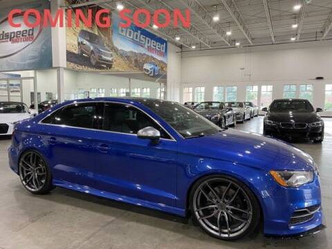 2015 Audi S3 for sale at Godspeed Motors in Charlotte NC