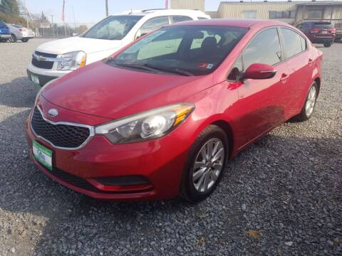 2014 Kia Forte for sale at Cascade Used Auto Sales in Martinsburg WV