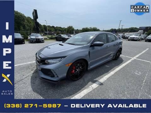 2019 Honda Civic for sale at Impex Auto Sales in Greensboro NC