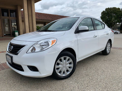 2012 Nissan Versa for sale at Auto Hub, Inc. in Anaheim CA