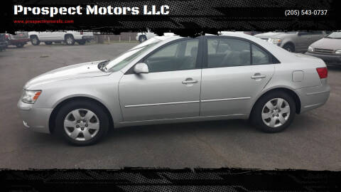 2009 Hyundai Sonata for sale at Prospect Motors LLC in Adamsville AL