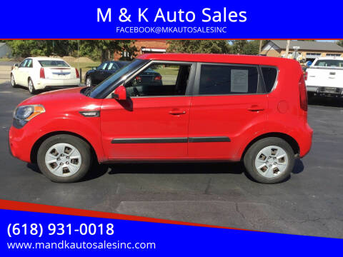 2013 Kia Soul for sale at M & K Auto Sales in Granite City IL