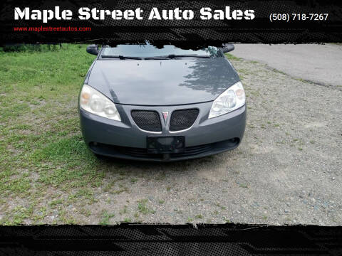 2008 Pontiac G6 for sale at Maple Street Auto Sales in Bellingham MA