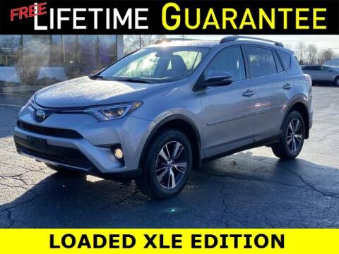 2017 Toyota RAV4 for sale at Vicksburg Chrysler Dodge Jeep Ram in Vicksburg MI