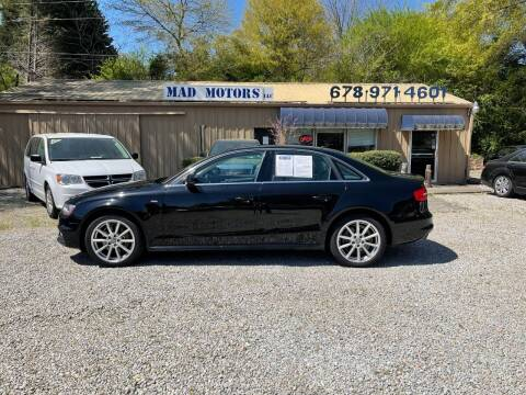 2014 Audi A4 for sale at Mad Motors LLC in Gainesville GA