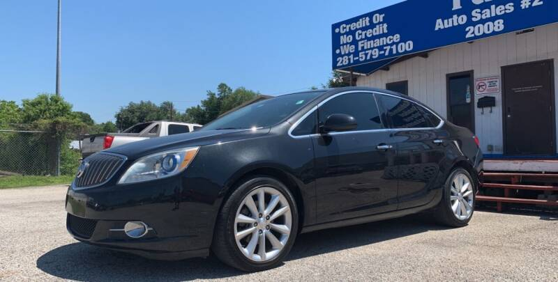 2013 Buick Verano for sale at P & A AUTO SALES in Houston TX