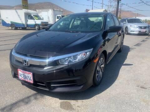 2017 Honda Civic for sale at Los Compadres Auto Sales in Riverside CA