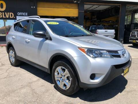 2014 Toyota RAV4 for sale at BEST DEAL MOTORS  INC. CARS AND TRUCKS FOR SALE in Sun Valley CA