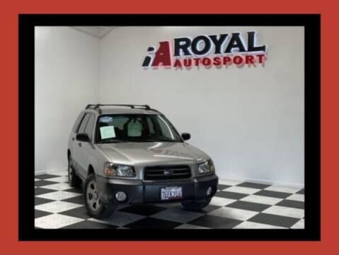 2005 Subaru Forester for sale at Royal AutoSport in Sacramento CA