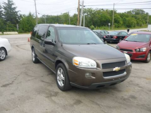 2008 Chevrolet Uplander for sale at I57 Group Auto Sales in Country Club Hills IL