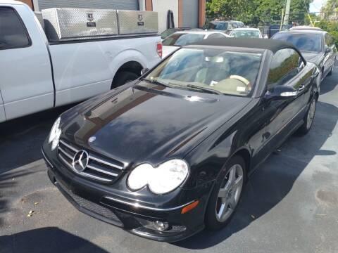 2007 Mercedes-Benz CLK for sale at LAND & SEA BROKERS INC in Pompano Beach FL