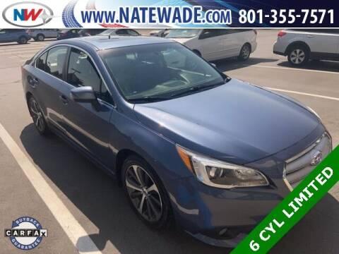 2017 Subaru Legacy for sale at NATE WADE SUBARU in Salt Lake City UT
