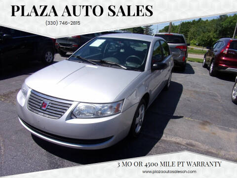2007 Saturn Ion for sale at Plaza Auto Sales in Poland OH