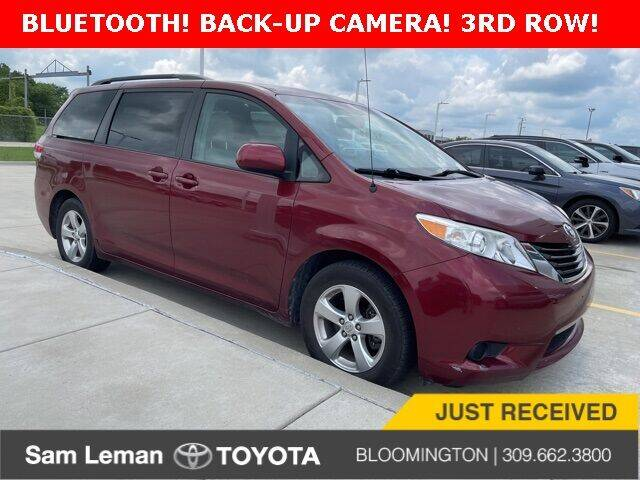 2014 Toyota Sienna for sale at Sam Leman Toyota Bloomington in Bloomington IL