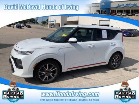2020 Kia Soul for sale at DAVID McDAVID HONDA OF IRVING in Irving TX